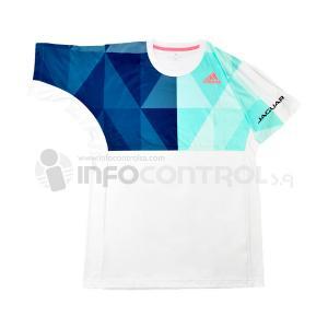 camiseta textil blanco adidas ropa