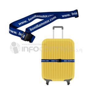 cinta equipaje viajar seguridad ocio