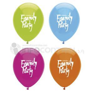 globos promoción colores fiesta