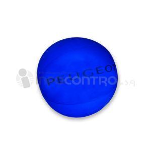 pelota azul verano jugar calor