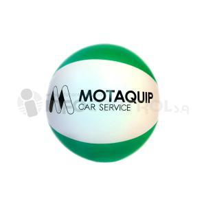 pelota verde blanco jugar