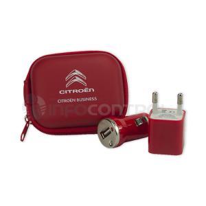 power bank cargador portatil movil cargar rojo negro batería