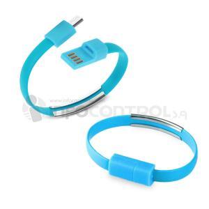 USB pulsera azul tecnologia datos cargar ordenador informacion