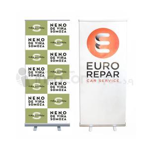 Roll up personalización publicidad promoción eurorepar