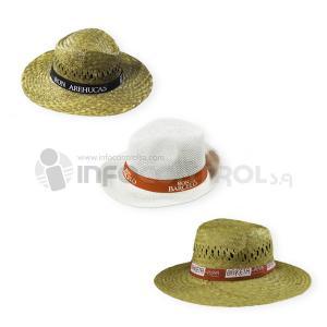sombrero paja rojo verano sol verano