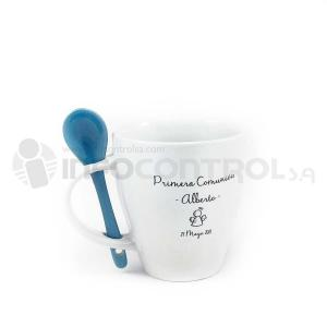 taza cuchara