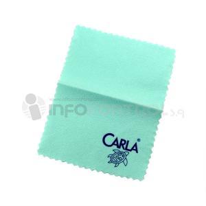 toallita microfibra limpieza gafas azul